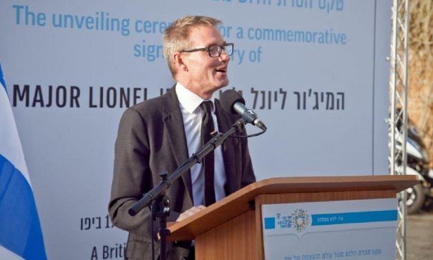 British soldier who saved 100 Jews during 1921 Jaffa riots is honoured in Israel
