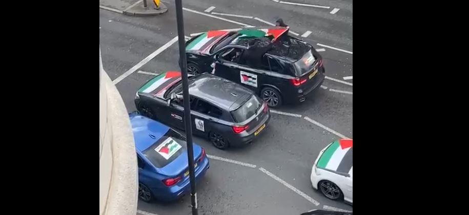 London: Car passengers scream 'Kill the Jews, rape their daughters' driving through Jewish community