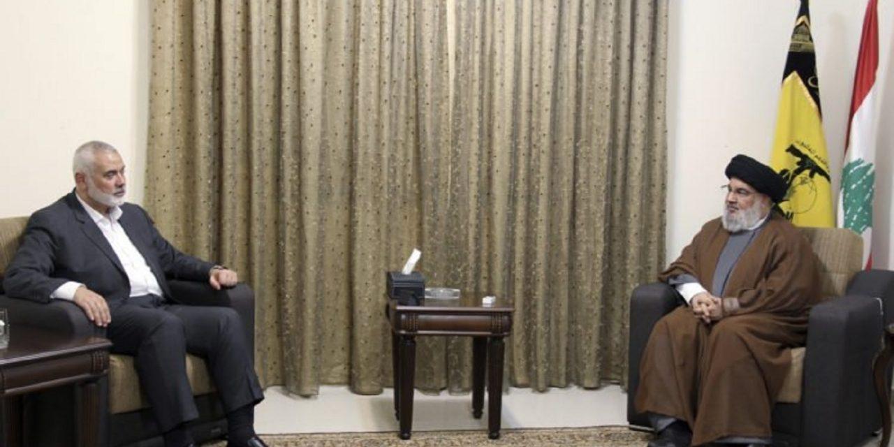 Hamas and Hezbollah leaders meet in Beirut