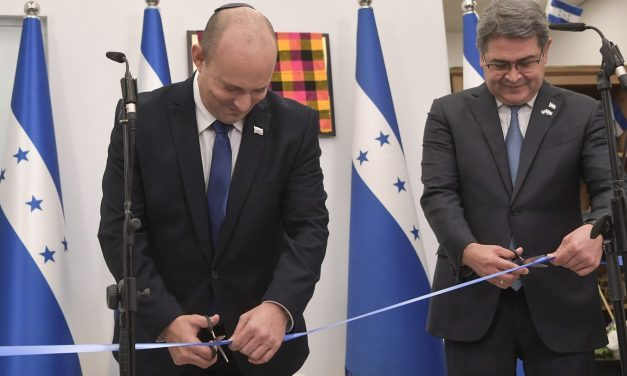 Honduras opens in Jerusalem embassy in special ceremony