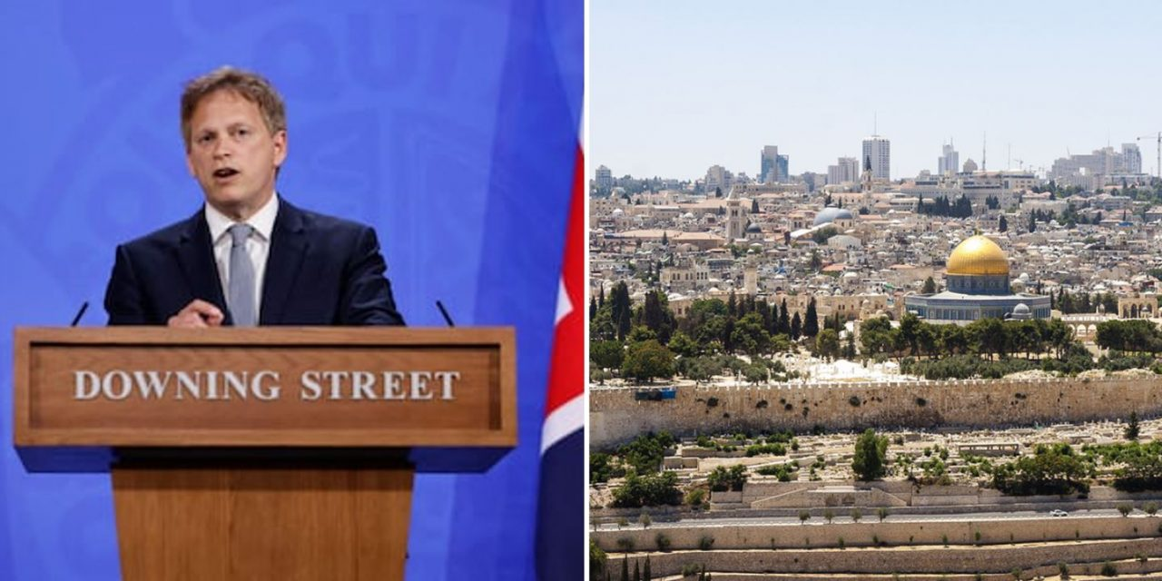 Israel AND Jerusalem? Shapps separates Israel's capital in Green Watch List travel rules