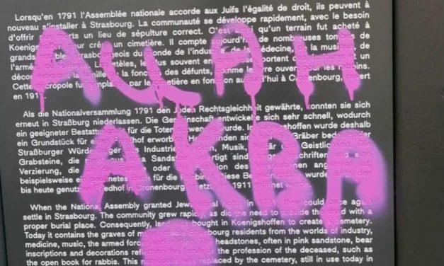 'Allah Akbar' graffiti found at Jewish cemetery in France