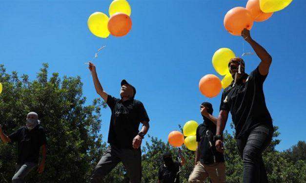IDF hits Hamas targets after arson balloons land in southern Israel