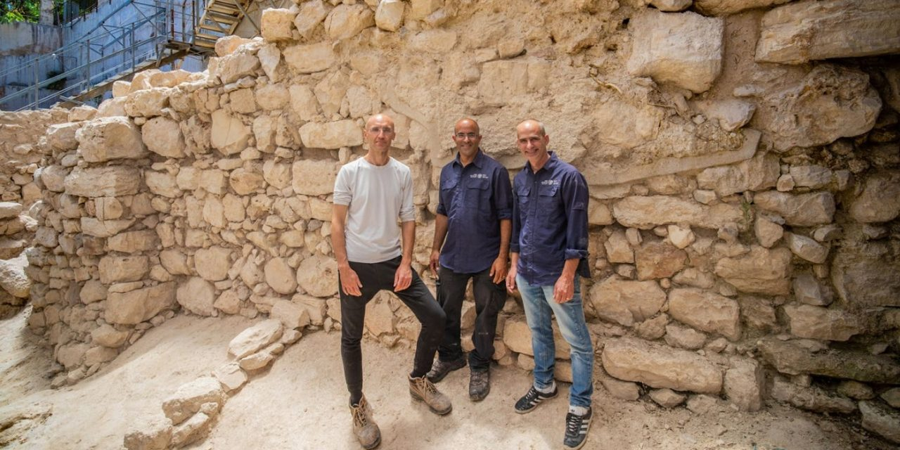 Jerusalem: Archaeologists uncover 3,000-year-old eastern wall used to protect City of David
