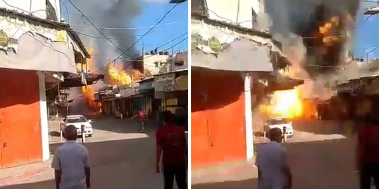 Gaza house storing rockets explodes, one dead, dozens injured including children