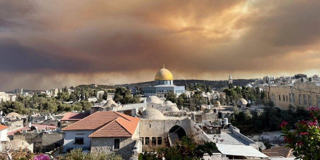 Israel: Wildfires outside Jerusalem send smoke over capital; hundreds evacuate