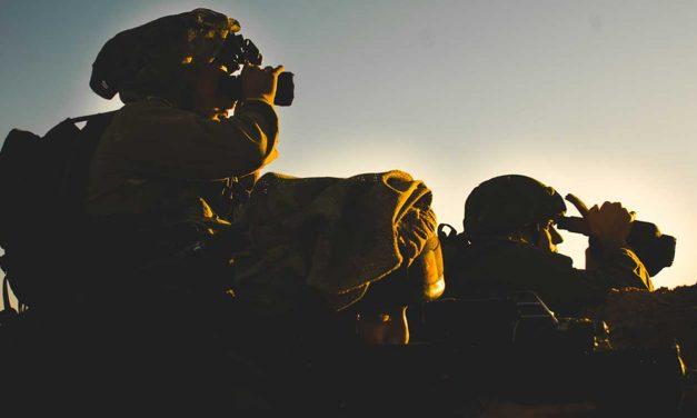 IDF catches four armed terrorists crossing Gaza border