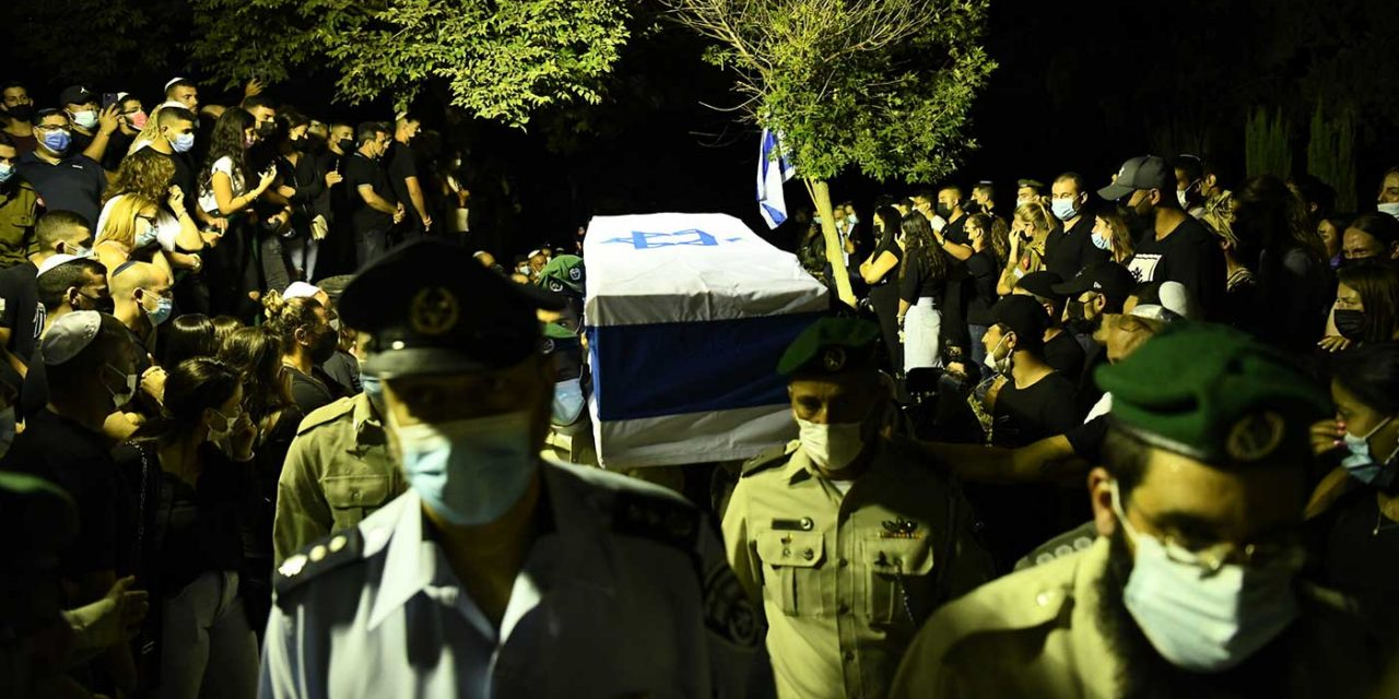 Israelis mourn and Palestinians celebrate the murder of a young Israeli policeman