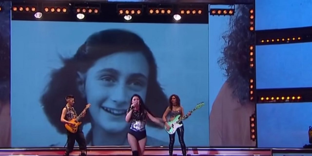 Argentinian TV singing show uses Anne Frank to illustrate 'women who don't leave house'