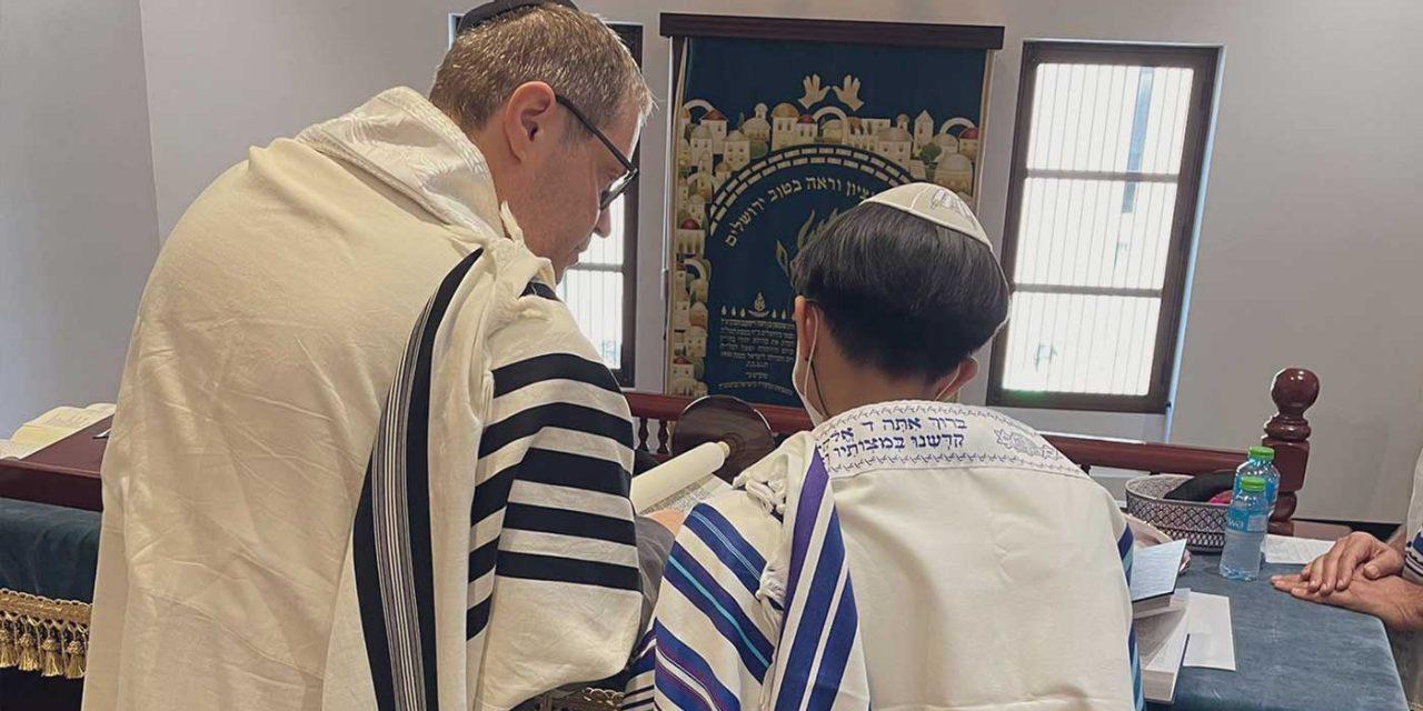 Bahrain's Jewish community celebrates first bar mitzvah in over decade