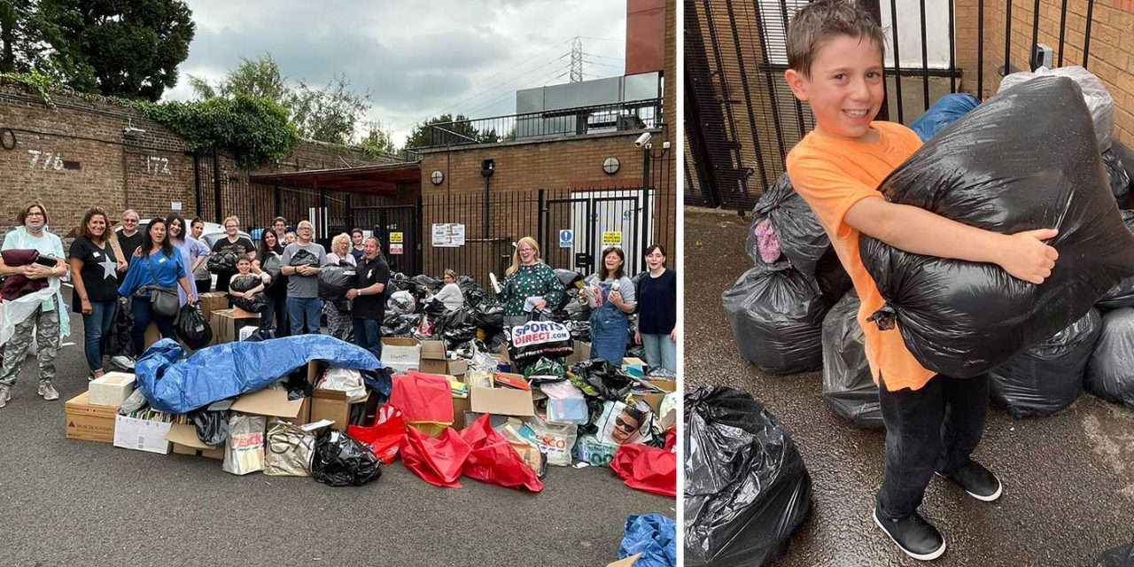Overwhelming response to London synagogue's Afghan refugee appeal