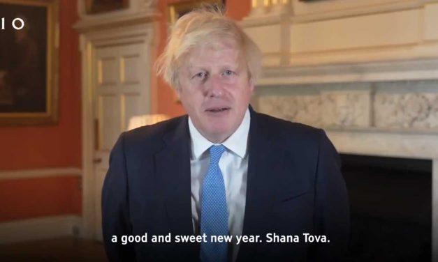 Boris Johnson wishes British Jews a 'good and sweet' Rosh Hashanah