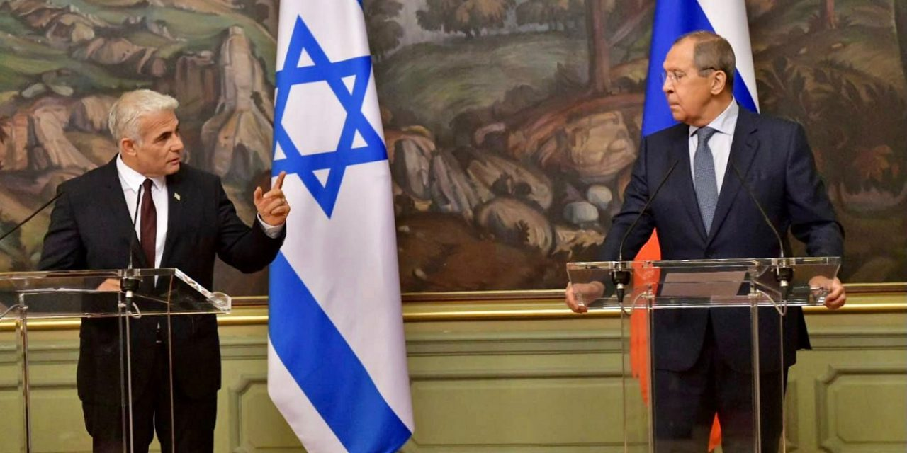 """Lapid in Moscow: """"The world needs to stop Iran from getting a nuclear capability, no matter the price"""""""