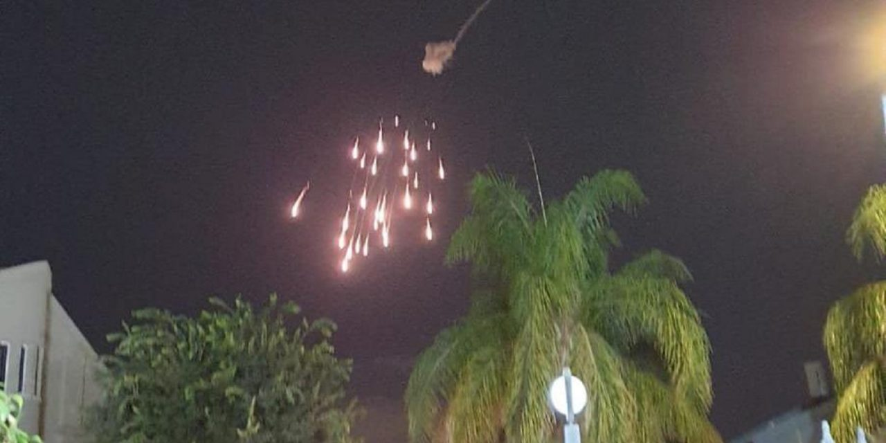 Israel intercepts rocket fire for THIRD consecutive night