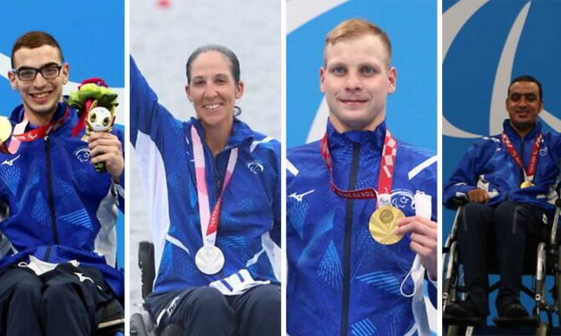 Israel's Paralympics team comes home with 9 medals including 6 golds