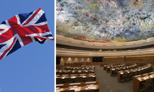 UK votes against UNHRC motion that supports 'anti-Semitic' Durban statement