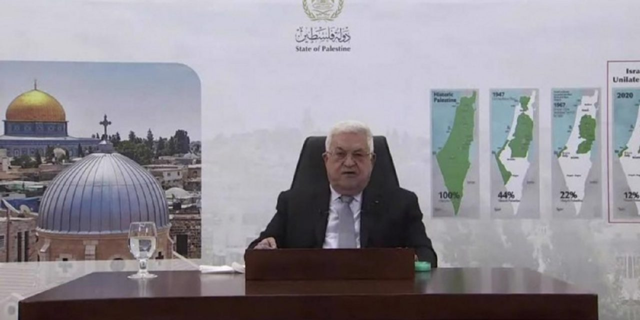 Abbas at UN: Israel 'has a year to withdraw from all Palestinian territories'