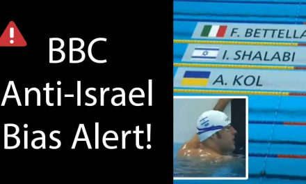 BBC refuses to acknowledge Israeli-Arab's Paralympic gold medal