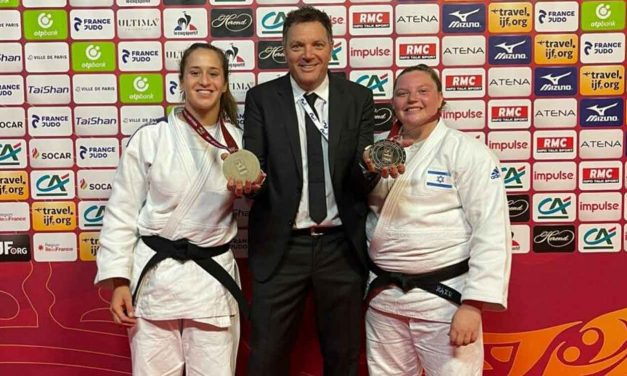 Israeli judokas win two golds and bronze in Paris Grand Slam