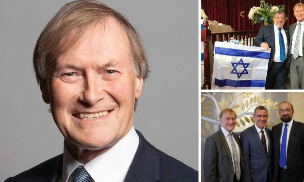 Remembering Sir David Amess MP, a friend of Israel and advocate for Holocaust education