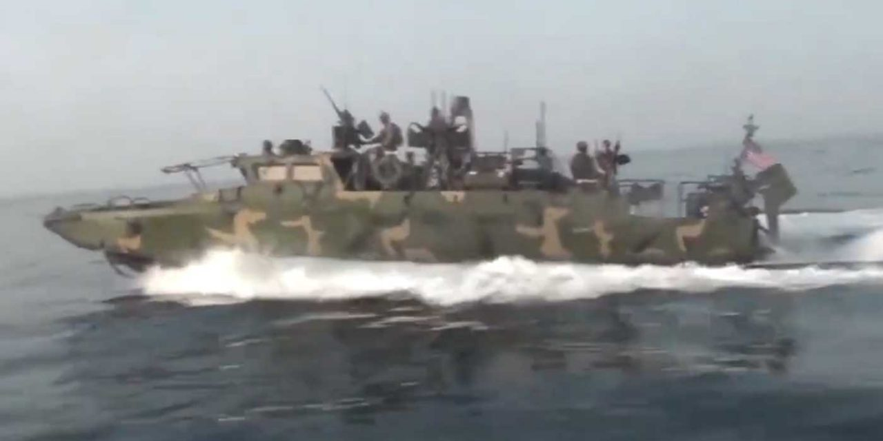 Iran releases video of Iranian speedboats chasing US Navy vessels