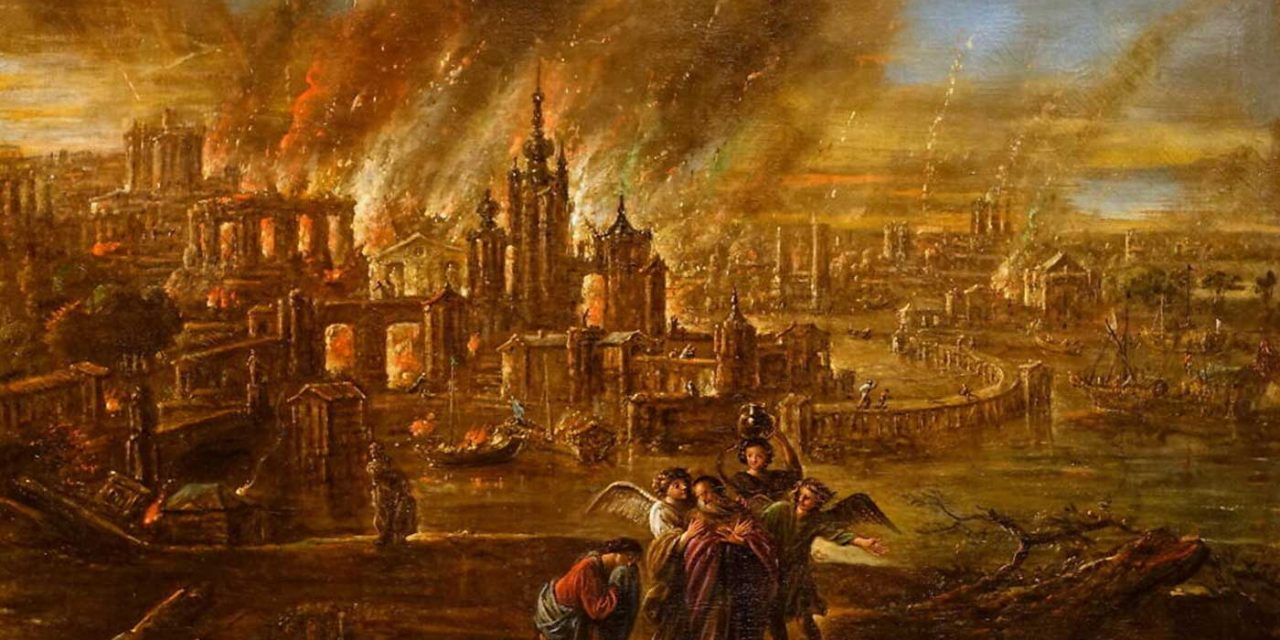 Scientists discover evidence meteor was cause of Sodom's destruction